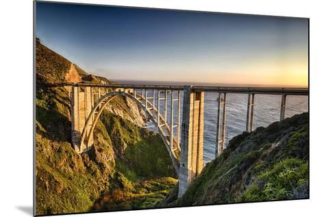 Pacific Highway Bridge-George Oze-Mounted Photographic Print