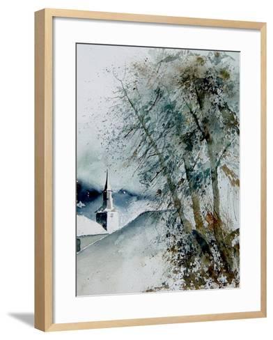 Watercolor 140605-Pol Ledent-Framed Art Print