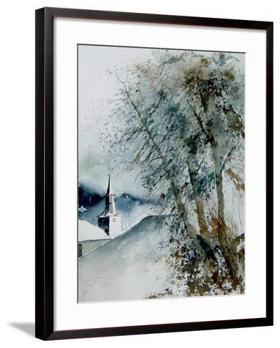 Watercolor 140605-Pol Ledent-Framed Art Print