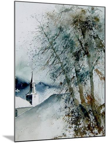 Watercolor 140605-Pol Ledent-Mounted Art Print
