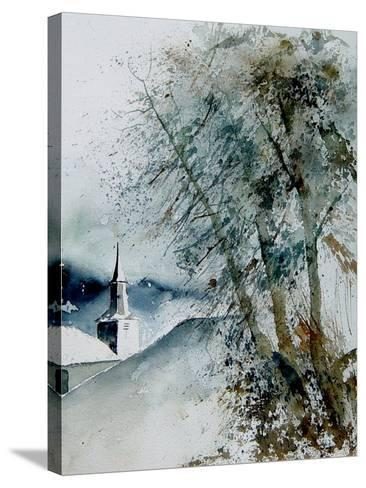 Watercolor 140605-Pol Ledent-Stretched Canvas Print