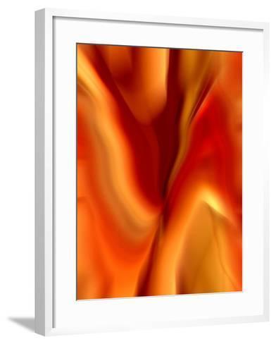 Burning Passion-Ruth Palmer-Framed Art Print