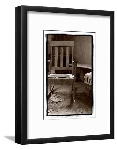 Old Chair, Bodie California-Steve Gadomski-Framed Art Print