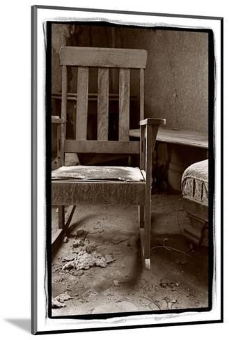 Old Chair, Bodie California-Steve Gadomski-Mounted Photographic Print