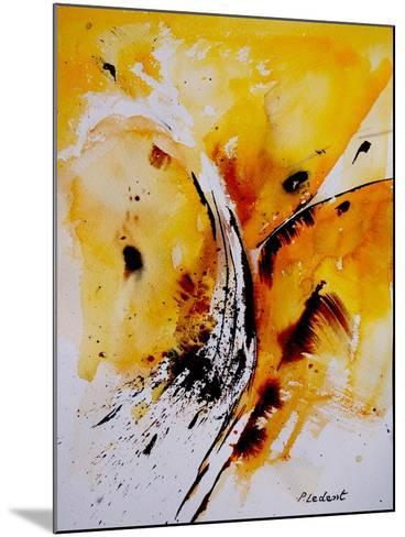 Watercolor 270108-Pol Ledent-Mounted Art Print