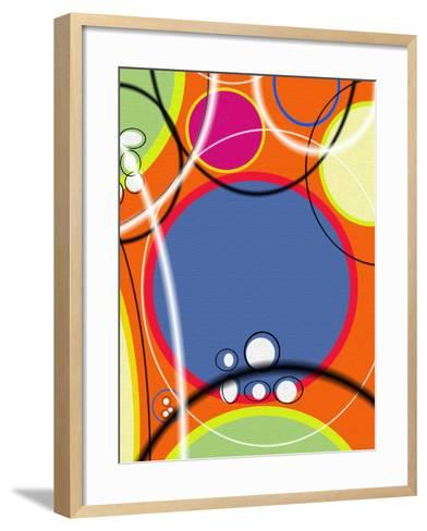 3 of 6 Abstract Art Retro Funk-Ricki Mountain-Framed Art Print