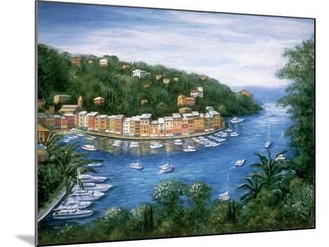 Portofino, A Majestic Panoramic View-Marilyn Dunlap-Mounted Art Print