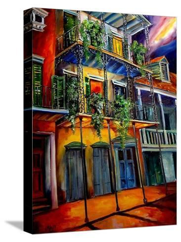 Mysterious French Quarter-Diane Millsap-Stretched Canvas Print