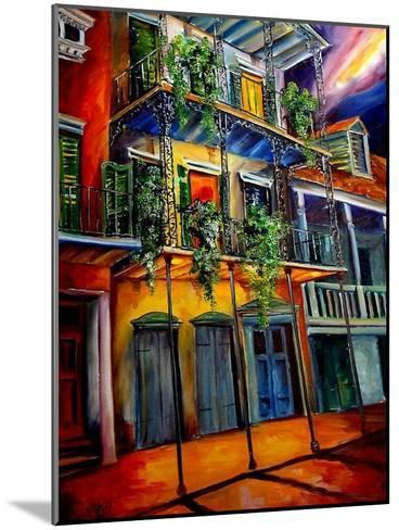 Mysterious French Quarter-Diane Millsap-Mounted Art Print