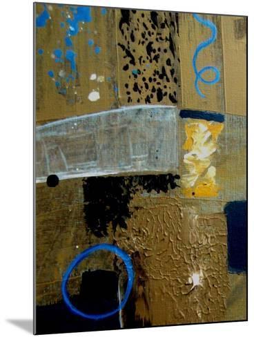 Crooked Shapes-Ruth Palmer-Mounted Art Print
