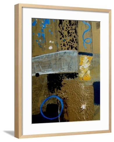 Crooked Shapes-Ruth Palmer-Framed Art Print