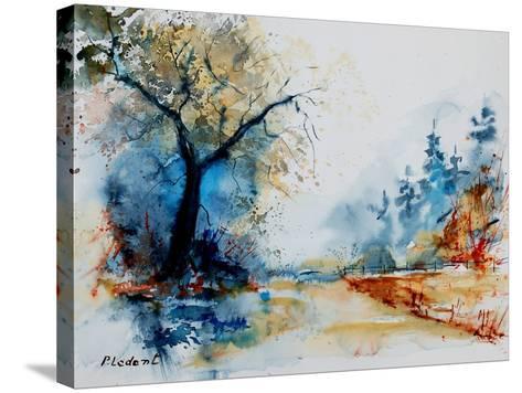 Watercolor 2407062-Pol Ledent-Stretched Canvas Print