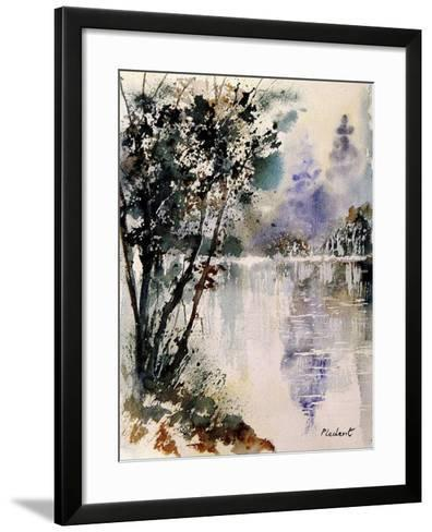 Watercolor 231203-Pol Ledent-Framed Art Print