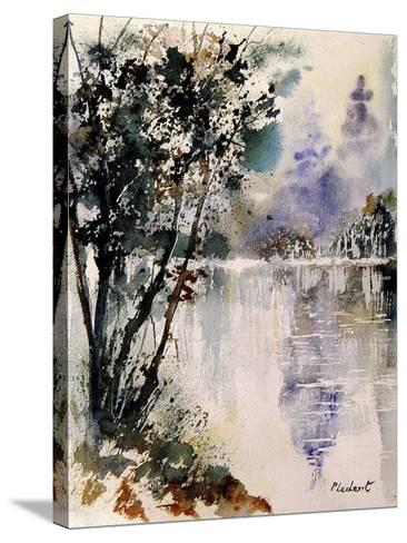 Watercolor 231203-Pol Ledent-Stretched Canvas Print