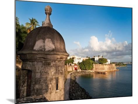 City Walls, Old San Juan, Puerto Rico-George Oze-Mounted Photographic Print