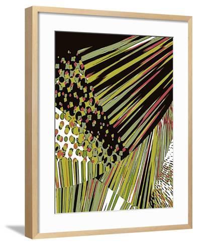 Tongue In Cheek One-Ruth Palmer-Framed Art Print