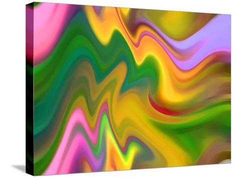 Color Sensations-Ruth Palmer-Stretched Canvas Print