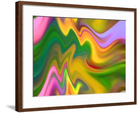 Color Sensations-Ruth Palmer-Framed Art Print