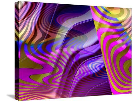 Crazy Busy-Ruth Palmer-Stretched Canvas Print