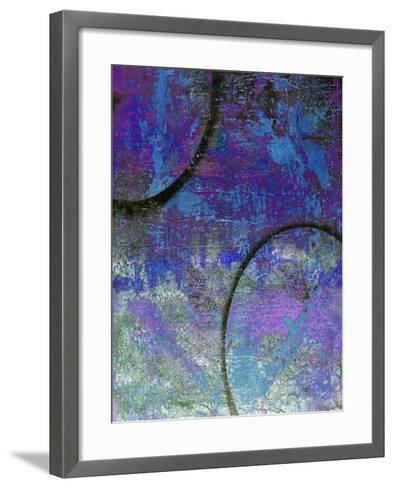 World Order II Abstract-Ricki Mountain-Framed Art Print
