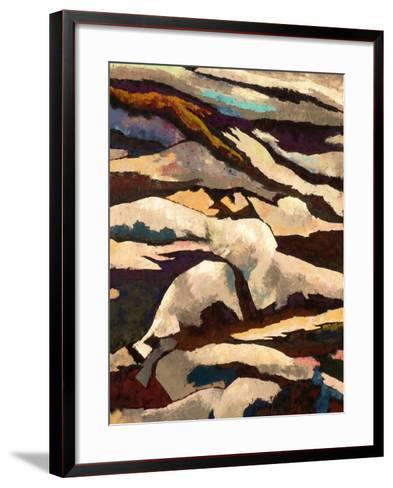 Mountain-Hyunah Kim-Framed Art Print