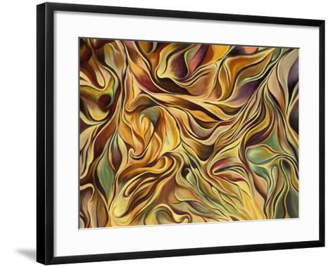 Spirit in Motion-Hyunah Kim-Framed Art Print