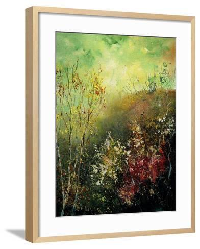 Birch Trees in Fall-Pol Ledent-Framed Art Print