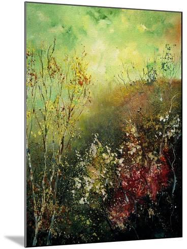 Birch Trees in Fall-Pol Ledent-Mounted Art Print