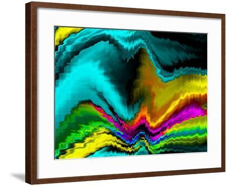 Wild Currents-Ruth Palmer-Framed Art Print