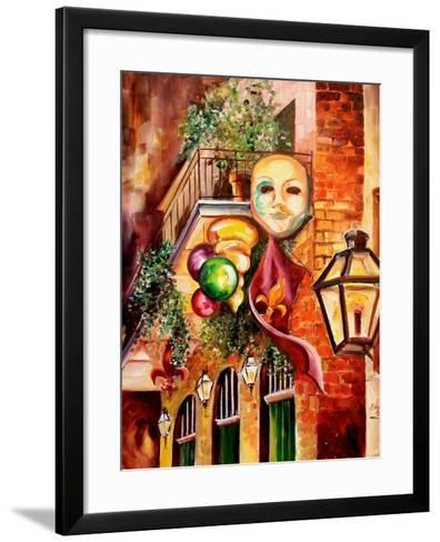 Mardi Gras Night-Diane Millsap-Framed Art Print