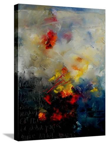 Abstract 0805-Pol Ledent-Stretched Canvas Print