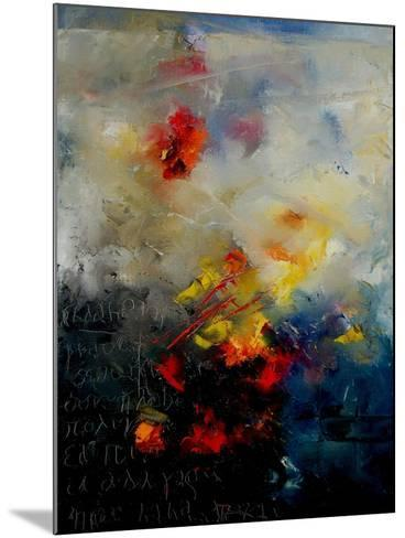 Abstract 0805-Pol Ledent-Mounted Art Print