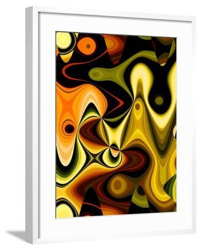 Orange Pop-Ruth Palmer-Framed Art Print