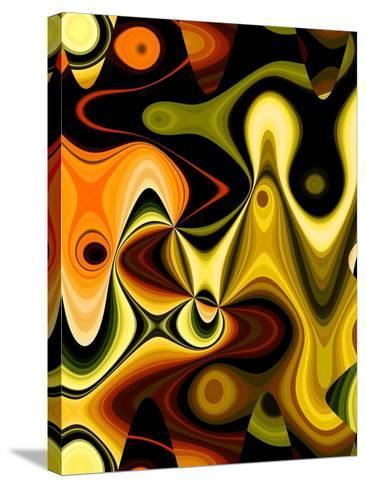 Orange Pop-Ruth Palmer-Stretched Canvas Print