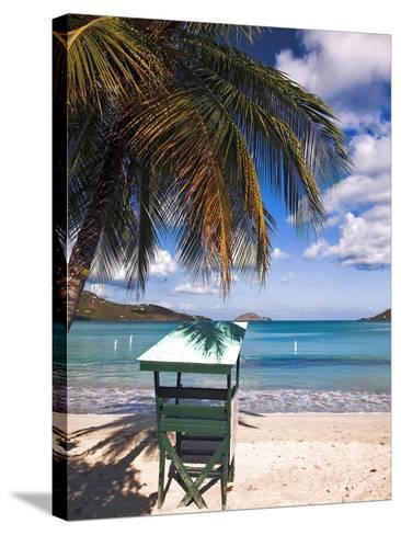 Magens Beach, Saint Thomas, US Virgin Islands-George Oze-Stretched Canvas Print
