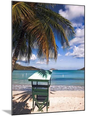 Magens Beach, Saint Thomas, US Virgin Islands-George Oze-Mounted Photographic Print