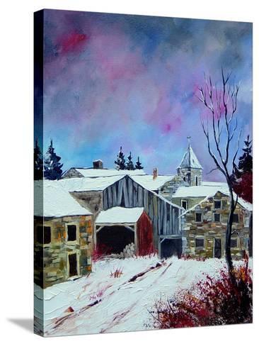 Houdremont 56-Pol Ledent-Stretched Canvas Print