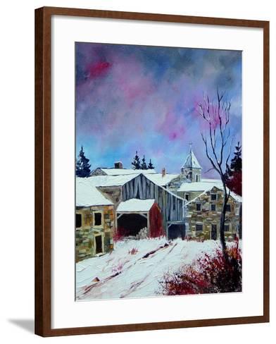 Houdremont 56-Pol Ledent-Framed Art Print