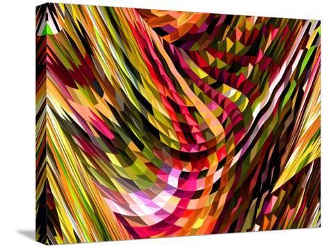 Masquerade II-Ruth Palmer-Stretched Canvas Print