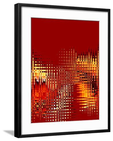 Number One Red-Ruth Palmer-Framed Art Print