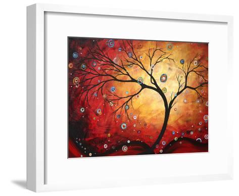 Red Halo-Megan Aroon Duncanson-Framed Art Print