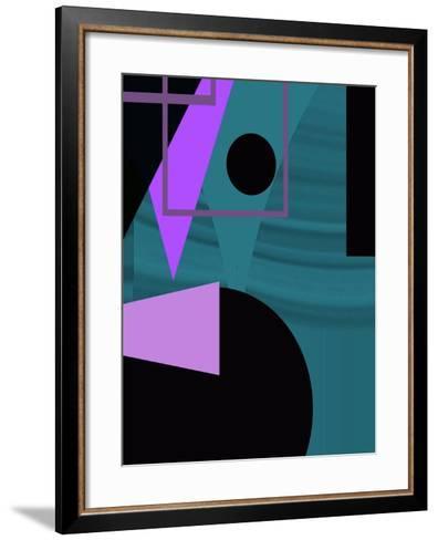 Point Of Interest Three-Ruth Palmer-Framed Art Print
