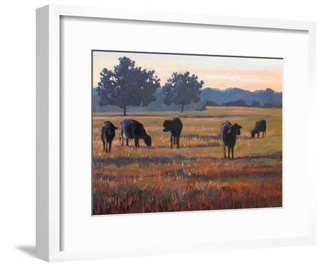 Foggy Morning Light-Patty Baker-Framed Art Print