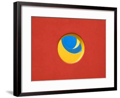 Red Yellow Blue-John Gusky-Framed Art Print