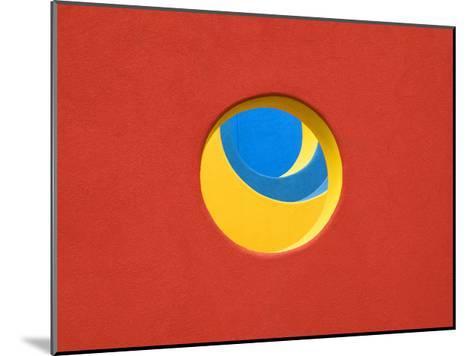Red Yellow Blue-John Gusky-Mounted Photographic Print