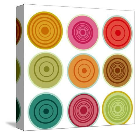 Lolipops Wendy-Ricki Mountain-Stretched Canvas Print