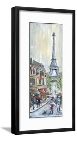 Poodle in Paris-Marilyn Dunlap-Framed Art Print