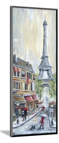Poodle in Paris-Marilyn Dunlap-Mounted Art Print