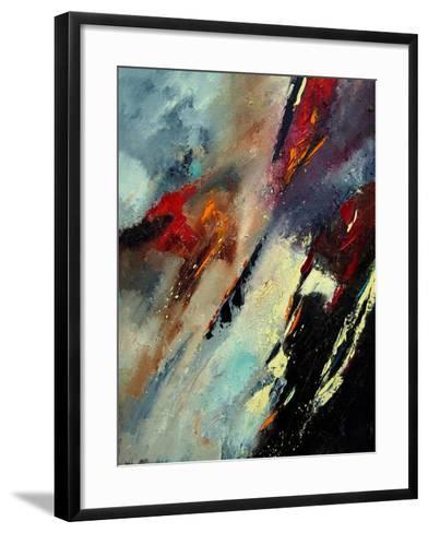 Abstract 03061-Pol Ledent-Framed Art Print