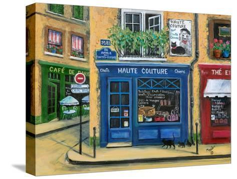 The French High Fashion Pet Shop-Marilyn Dunlap-Stretched Canvas Print